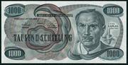 1000 Schilling -  avers