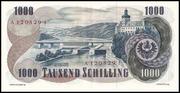 1000 Schilling -  revers