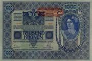 Austria 1.000 kronen (II Auglage) -  avers