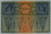 Austria 1.000 kronen (II Auglage) -  revers