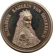 Token - Empress Elisabeth of Austria – avers