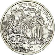 10 euros Richard Cœur de Lion à Dürnstein -  avers