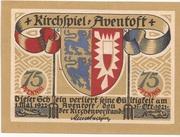 75 Pfennig (Aventoft) – avers