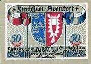 50 Pfennig (Aventoft) – avers