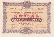 50 centimes - Chambre de Commerce d'Avignon et du Vaucluse [84] – avers