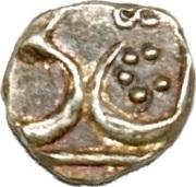 1/16 Rupee - Amjad Ali (Lucknow mint) – avers