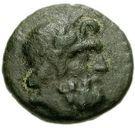Bronze Æ13 (Axos) – avers