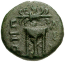 Bronze Æ13 (Axos) – revers
