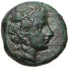 Bronze Æ10 (Axos) – avers