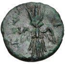 Bronze Æ10 (Axos) – revers