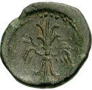 Bronze Æ19 (Axos) – revers
