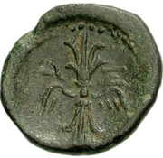 Bronze Æ19 (Axos) -  revers