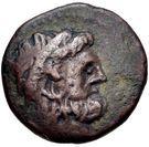Bronze Æ17 (Axos) – avers