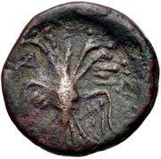 Bronze Æ17 (Axos) – revers