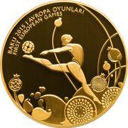 100 Manat (Rhythmic Gymnastics) – revers