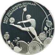 5 Manat (Rhythmic Gymnastics) – revers