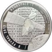 5 Manat (Azerspace-1) – revers
