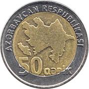 50 qepik -  avers