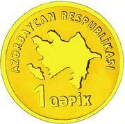 1 Qəpik (Gold) – avers
