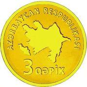 3 Qəpik (Gold) – avers