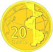 20 Qəpik (Gold) – revers