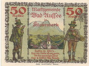 50 Heller (Bad Aussee) – revers