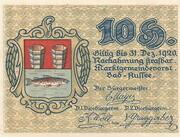 10 Heller (Bad Aussee) – avers