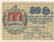80 Heller (Bad Aussee) – avers