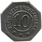 10 pfennig - Bad Bertrich – revers