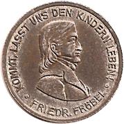 50 pfennig - Bad Blankenburg – revers