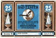 25 Pfennig (Bad Elster; Sparkasse Bad Elster) – avers