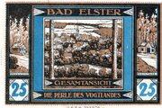 25 Pfennig (Bad Elster; Sparkasse Bad Elster) – revers