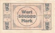 500,000 Mark – revers