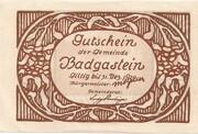 10 Heller (Bad Gastein) – revers