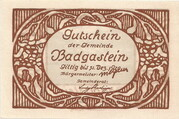 60 Heller (Bad Gastein) – revers