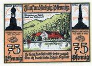 75 Pfennig (Bad Lauterberg im Harz) – revers