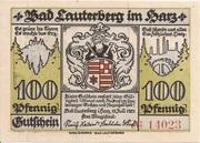 100 Pfennig – avers