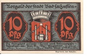 10 Pfennig (Bad Salzuflen) – avers