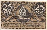 25 Pfennig (Bad Salzuflen) – avers