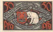 50 Pfennig (Bad Salzuflen) – revers