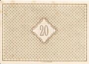 20 Mark – revers