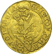 1 Goldgulden - Christoph I. – avers
