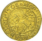 1 Goldgulden - Christoph I. – revers