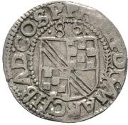 ½ Batzen - Philipp II. – avers