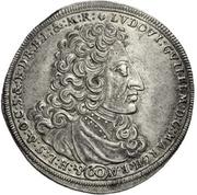 60 Kreuzer - Ludwig Wilhelm (Guldentaler) – avers