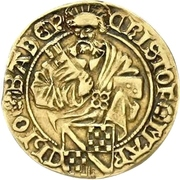 1 Goldgulden - Christoph I. – avers
