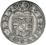12 Kreuzer - Friedrich Magnus VII. – revers