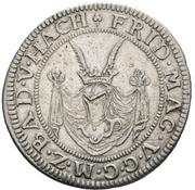 12 Kreuzer - Friedrich VII. Magnus – avers