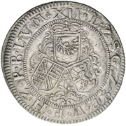 12 Kreuzer - Friedrich VII. Magnus – revers