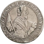 1 Thaler - Friedrich V. (Pforzheim) – avers